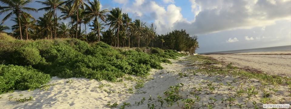 Privé strand...