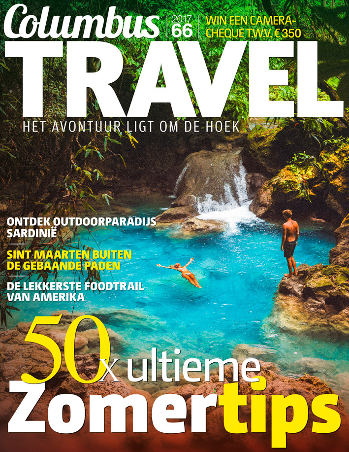 Columbus Travel magazine cover 66