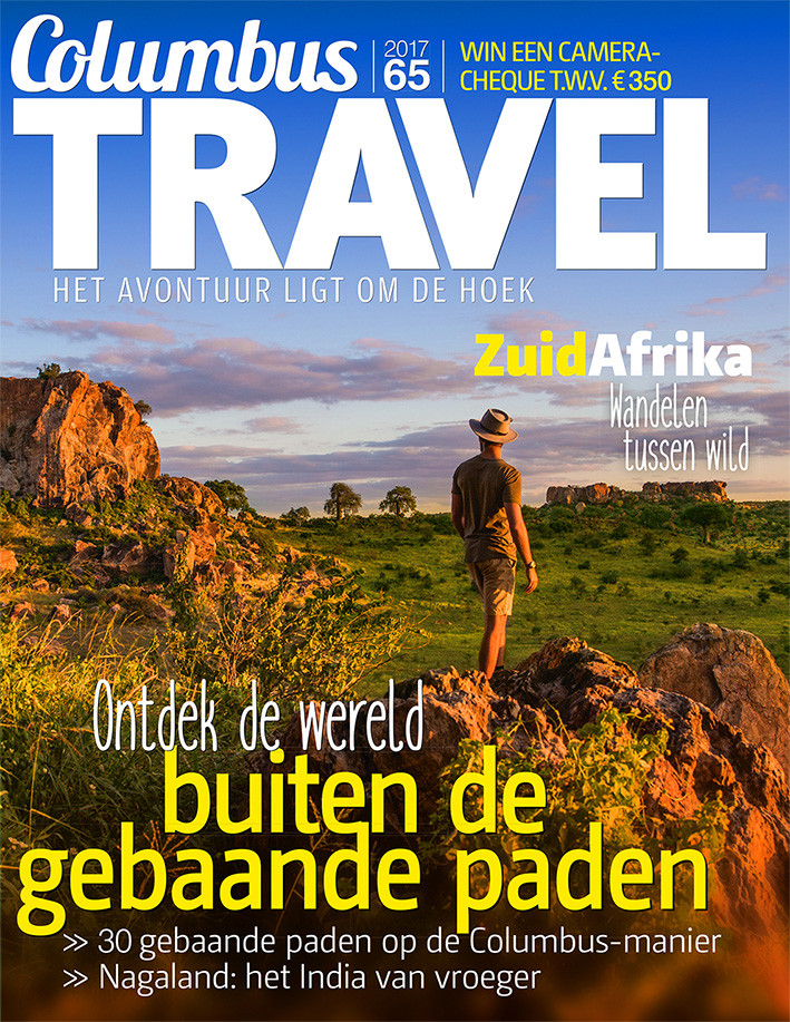 Columbus Travel magazine cover 65