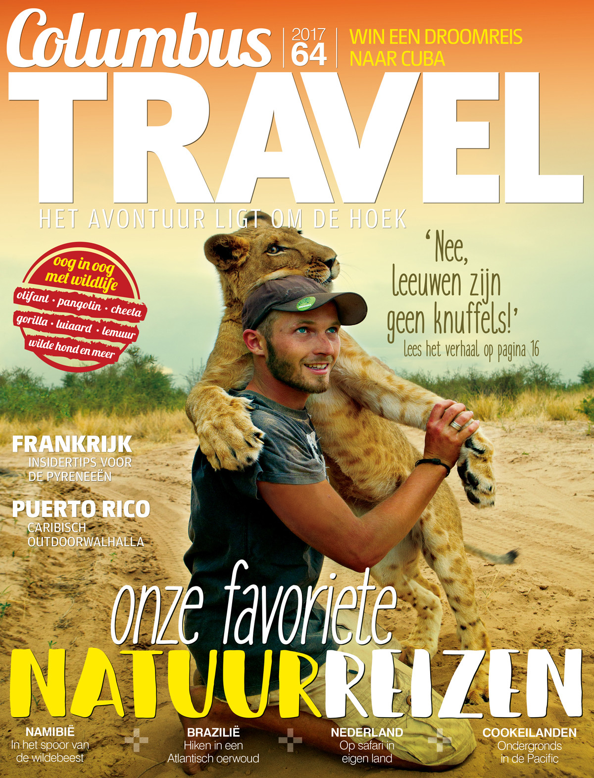 Columbus Travel magazine cover 64