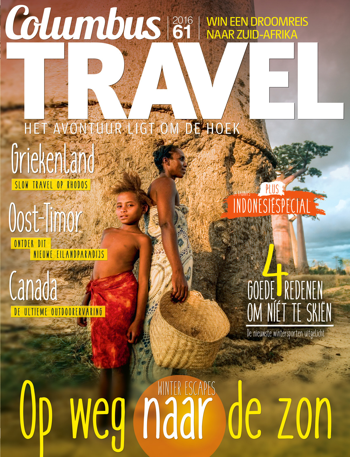 Columbus Travel magazine cover 61