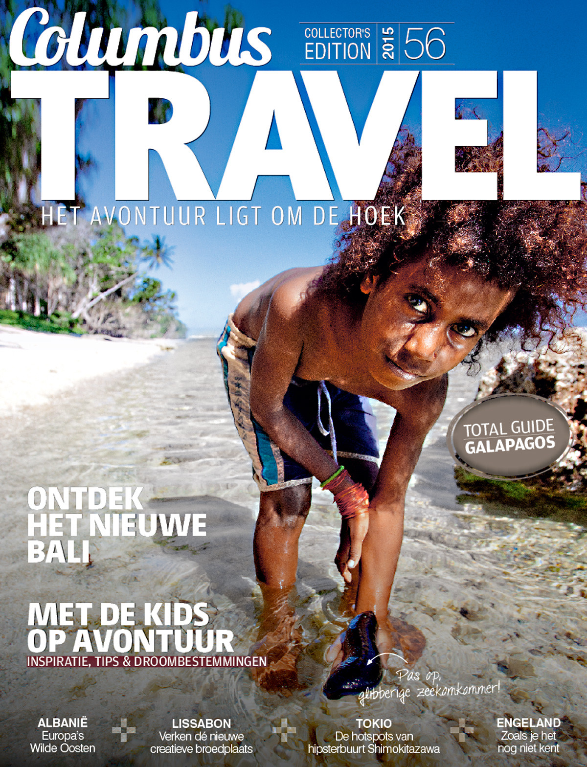 Columbus Travel magazine cover 56