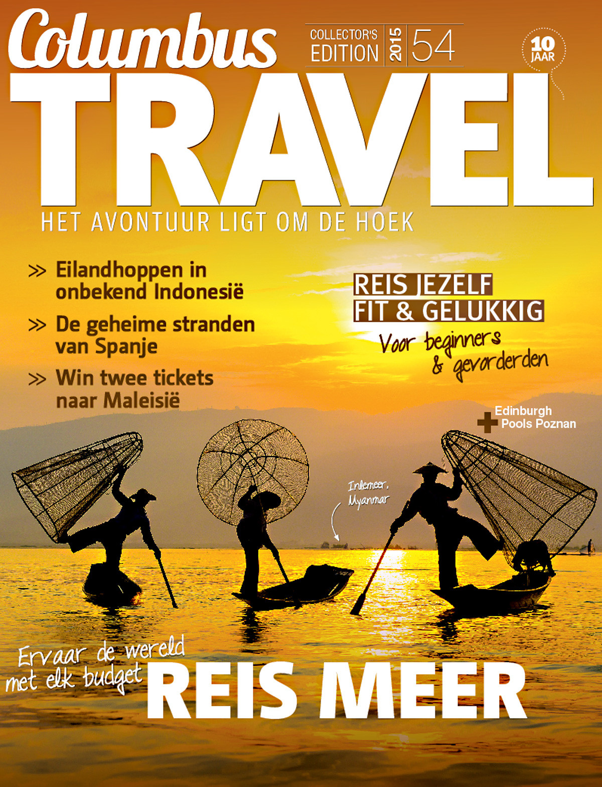 Columbus Travel magazine cover 54