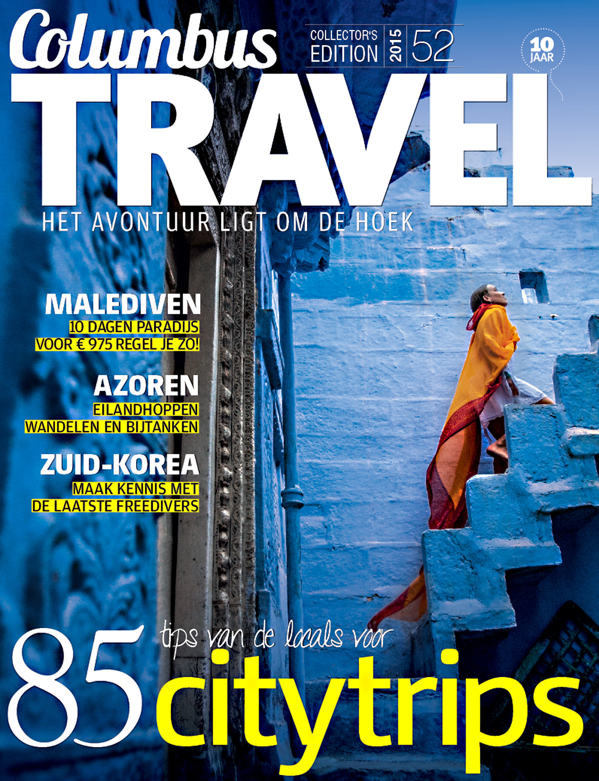 Columbus Travel magazine cover 52