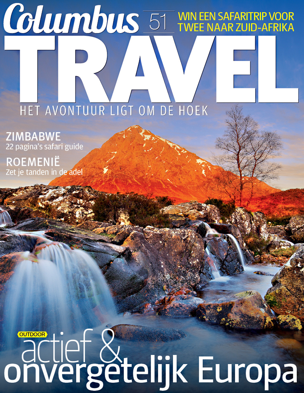 Columbus Travel magazine cover 51