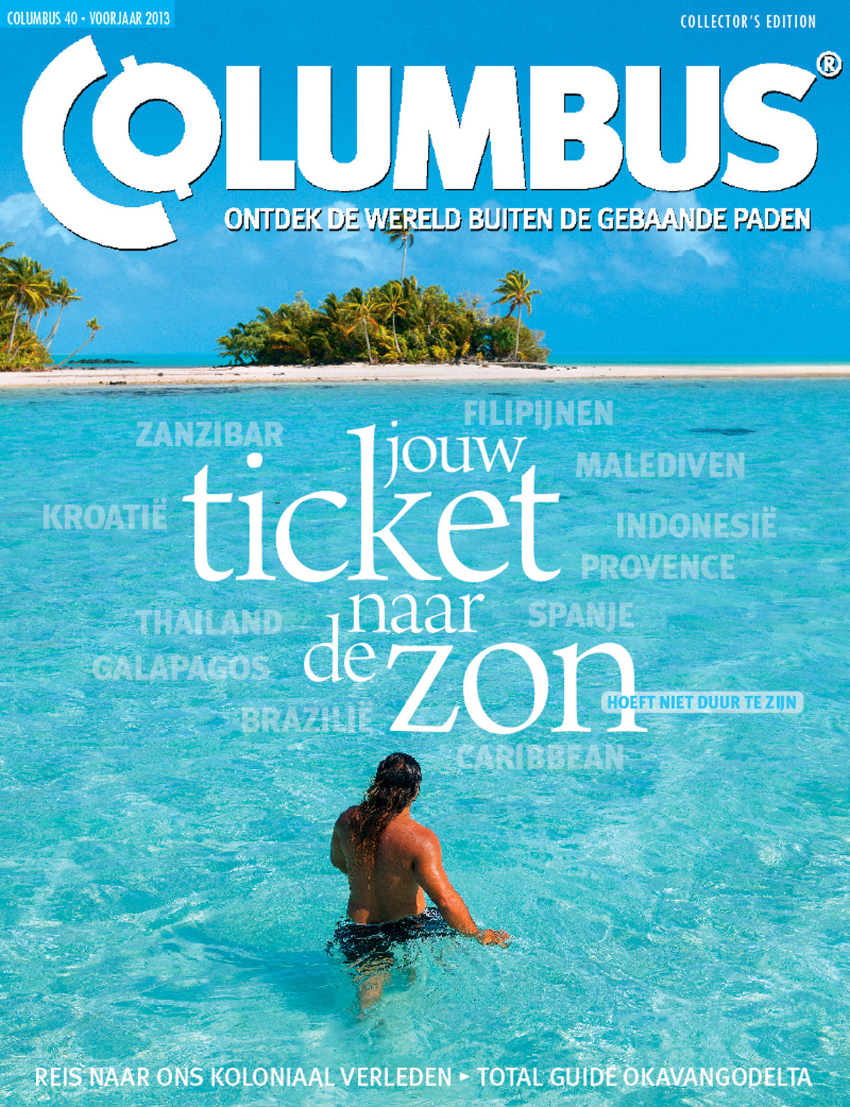 Columbus Travel magazine cover 40