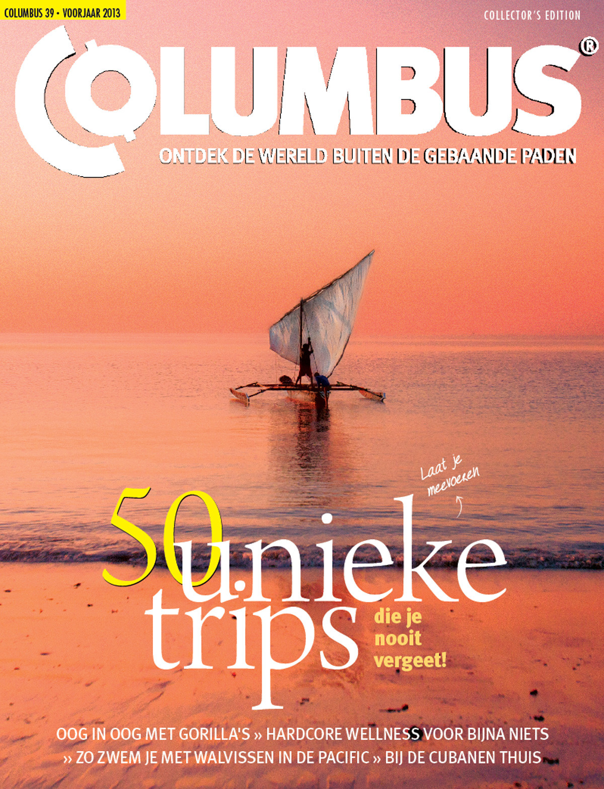 Columbus Travel magazine cover 39