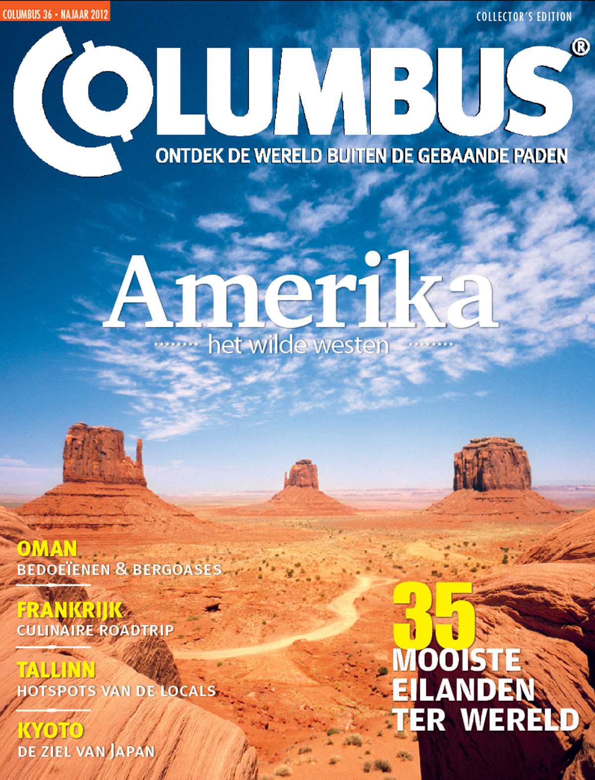 Columbus Travel magazine cover 36