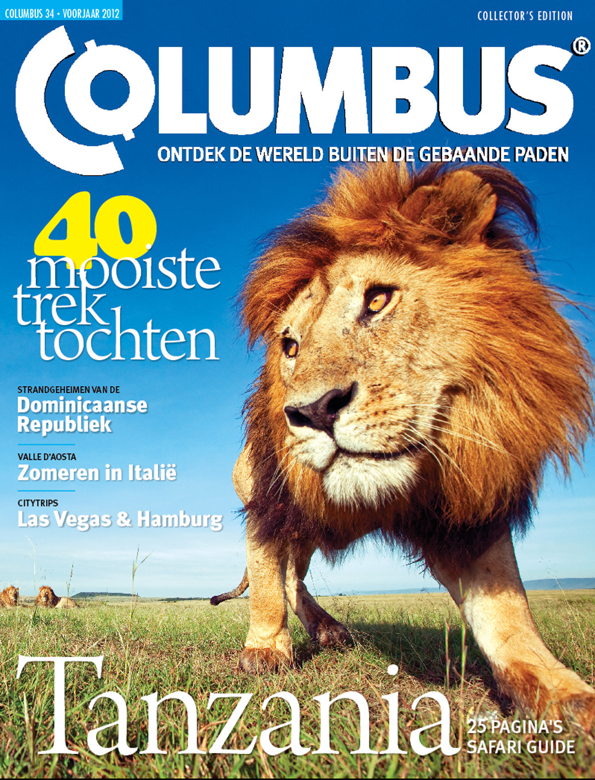 Columbus Travel magazine cover 34