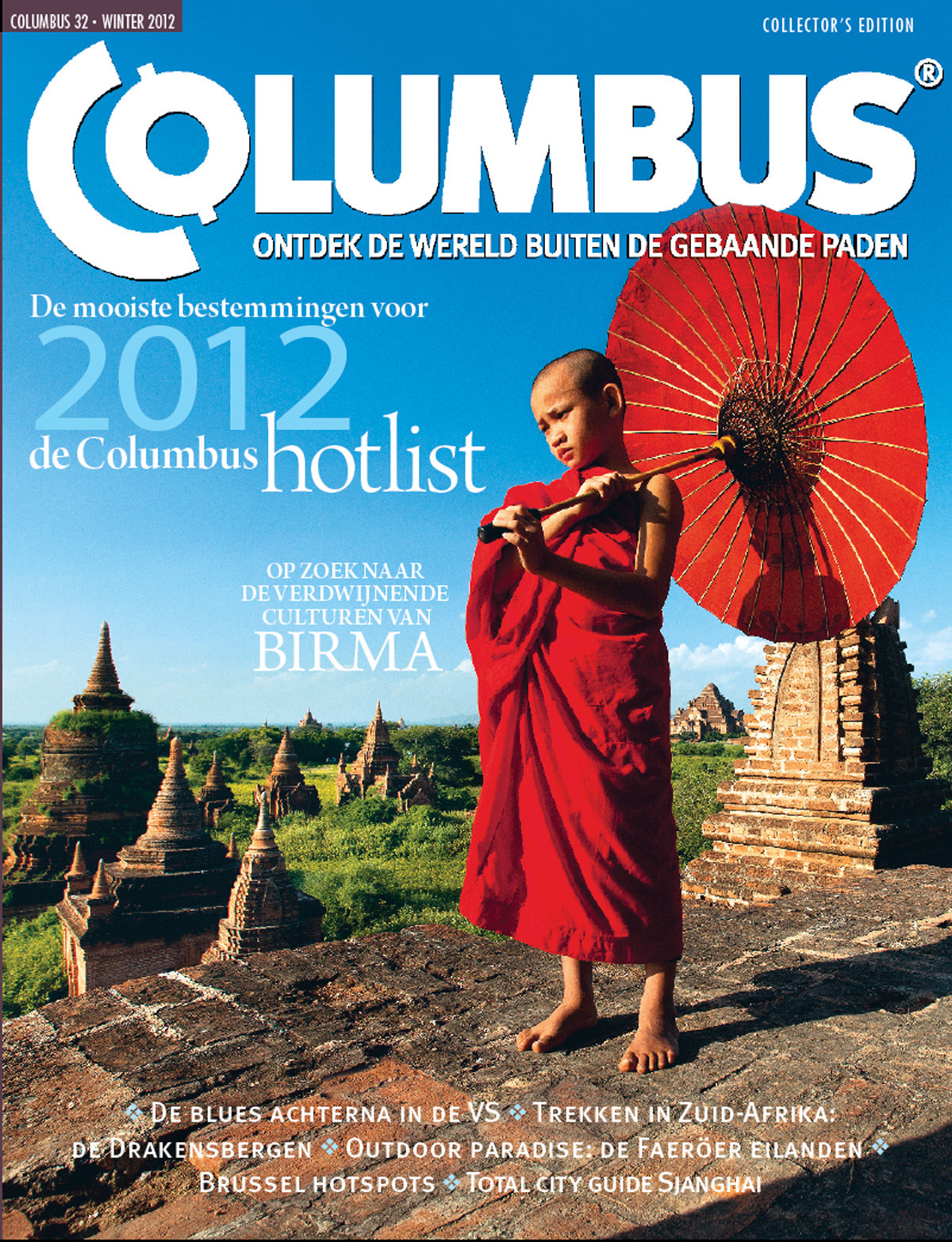 Columbus Travel magazine cover 32