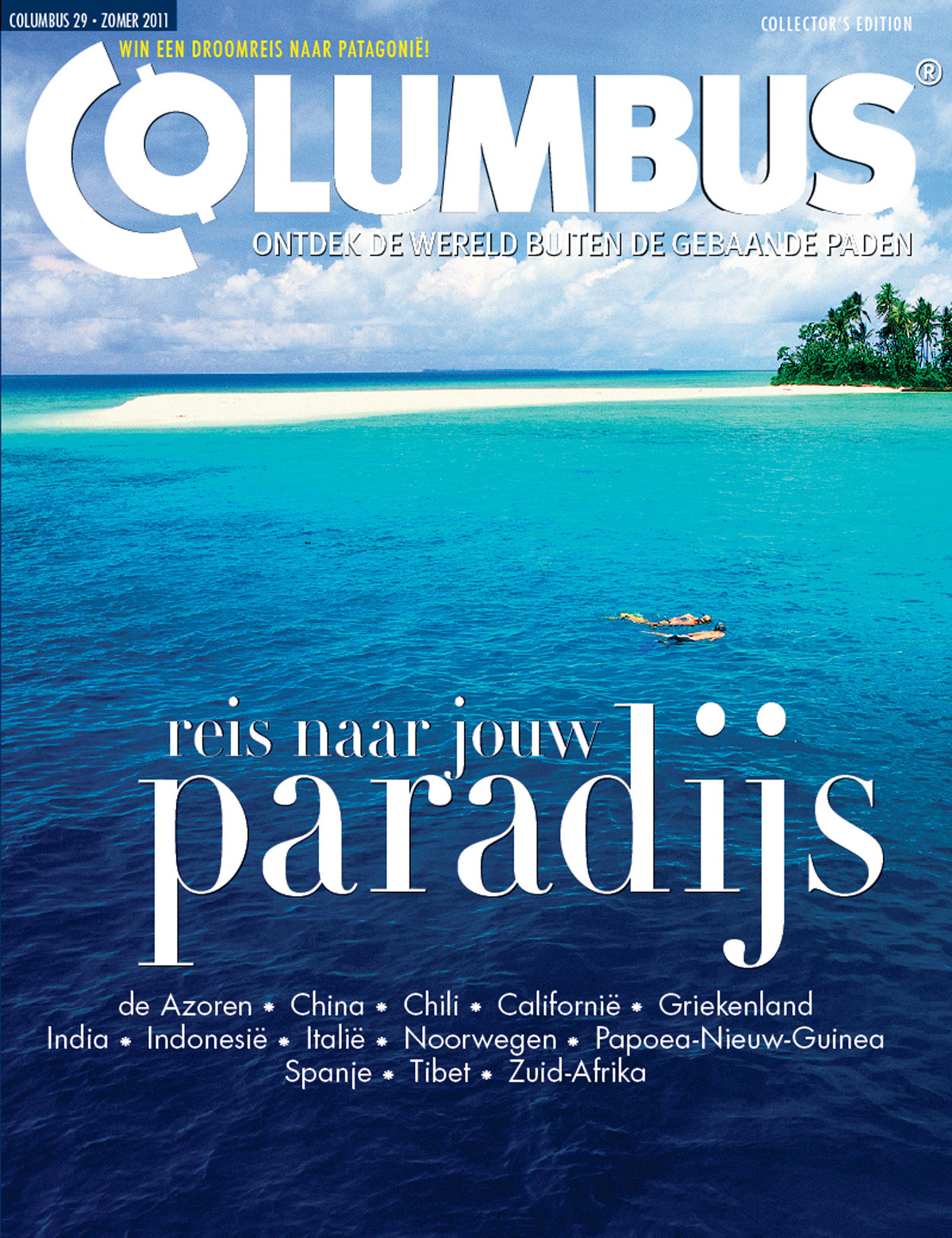 Columbus Travel magazine cover 29