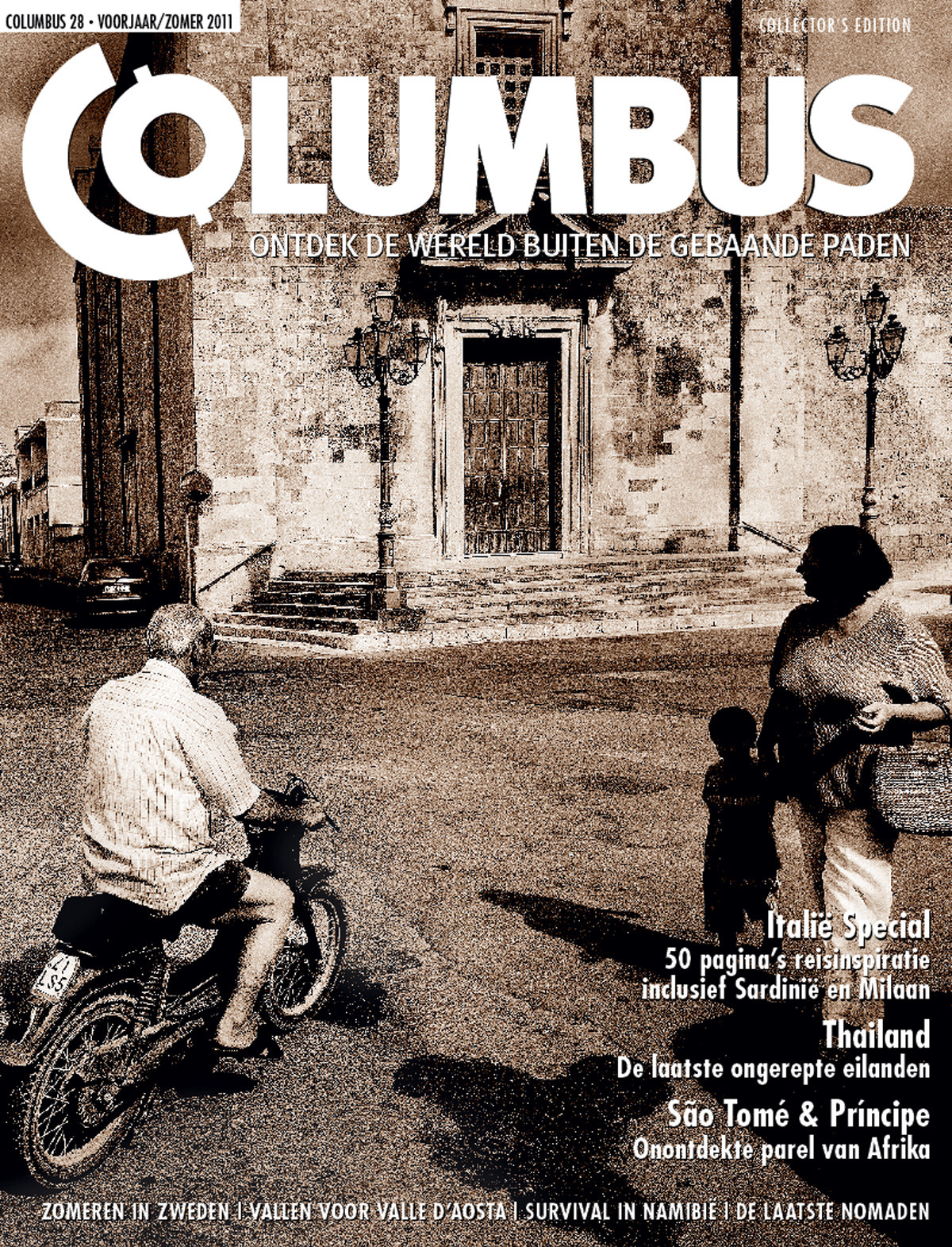 Columbus Travel magazine cover 28