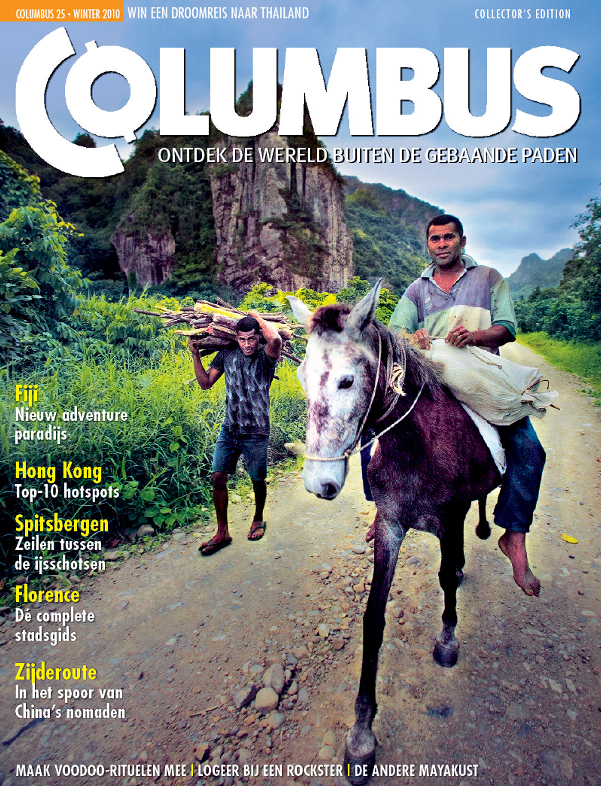 Columbus Travel magazine cover 25