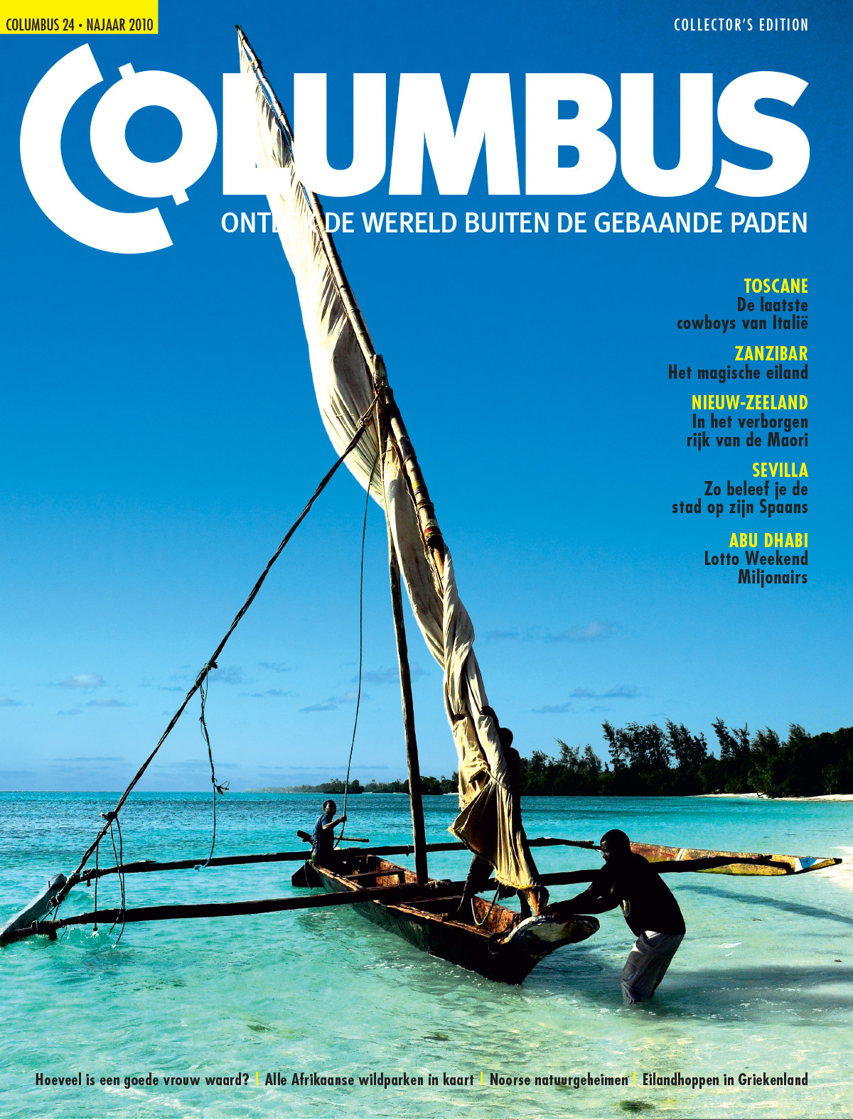 Columbus Travel magazine cover 24