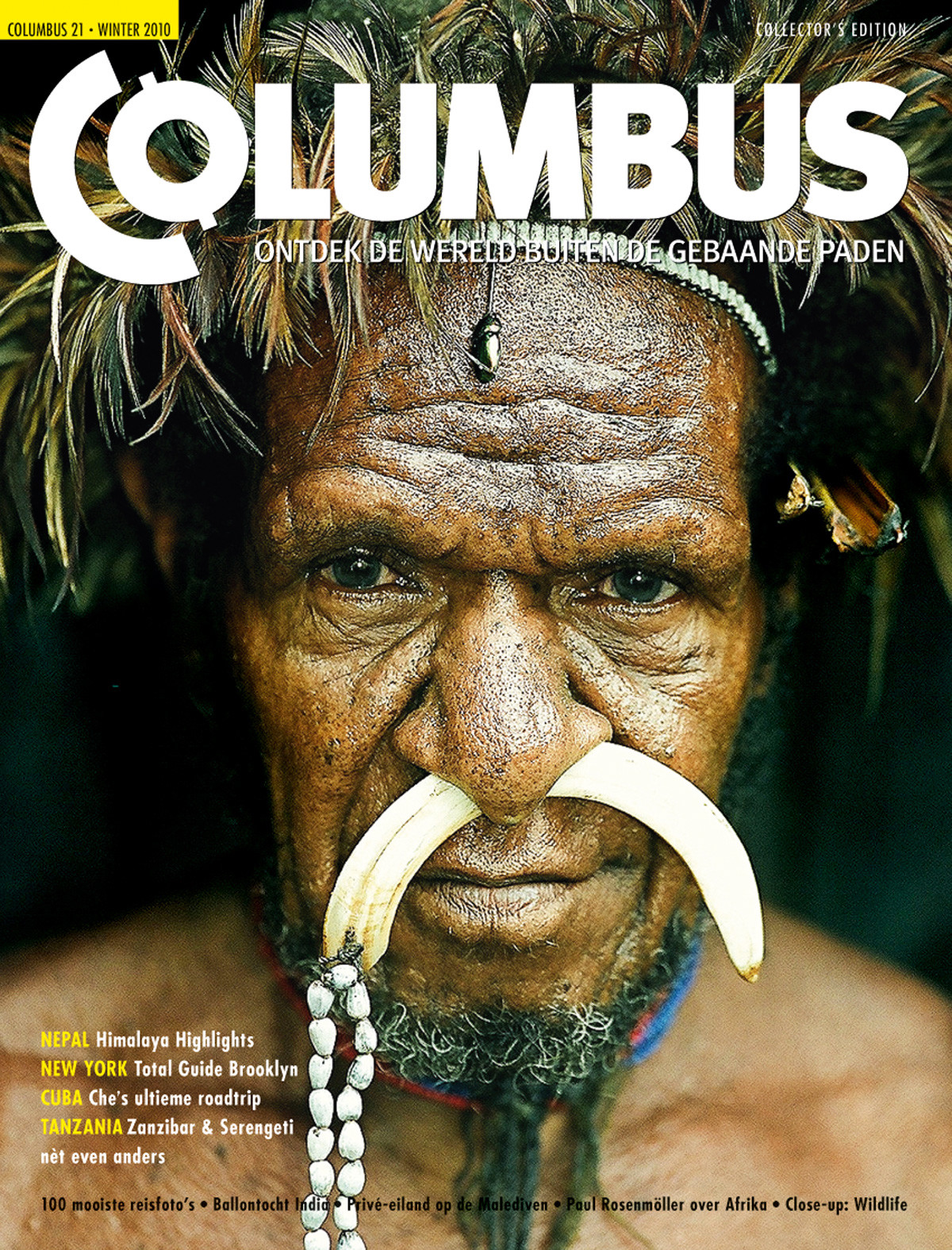 Columbus Travel magazine cover 21