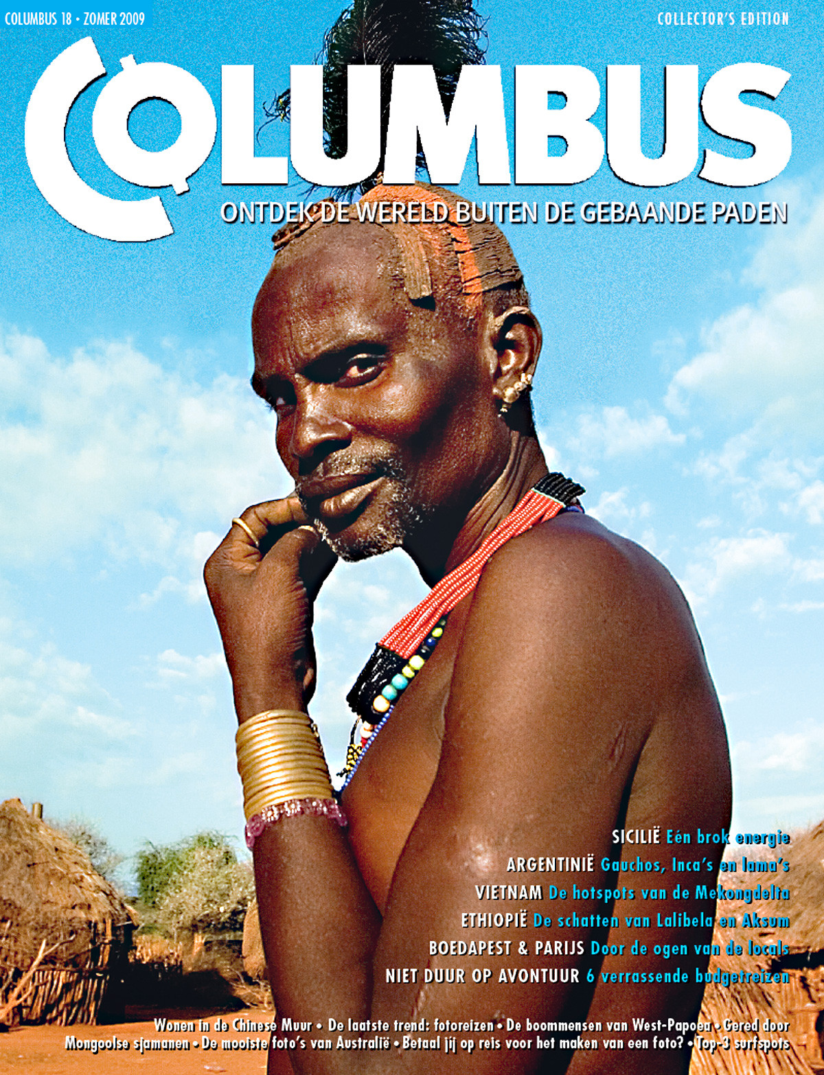 Columbus Travel magazine cover 18