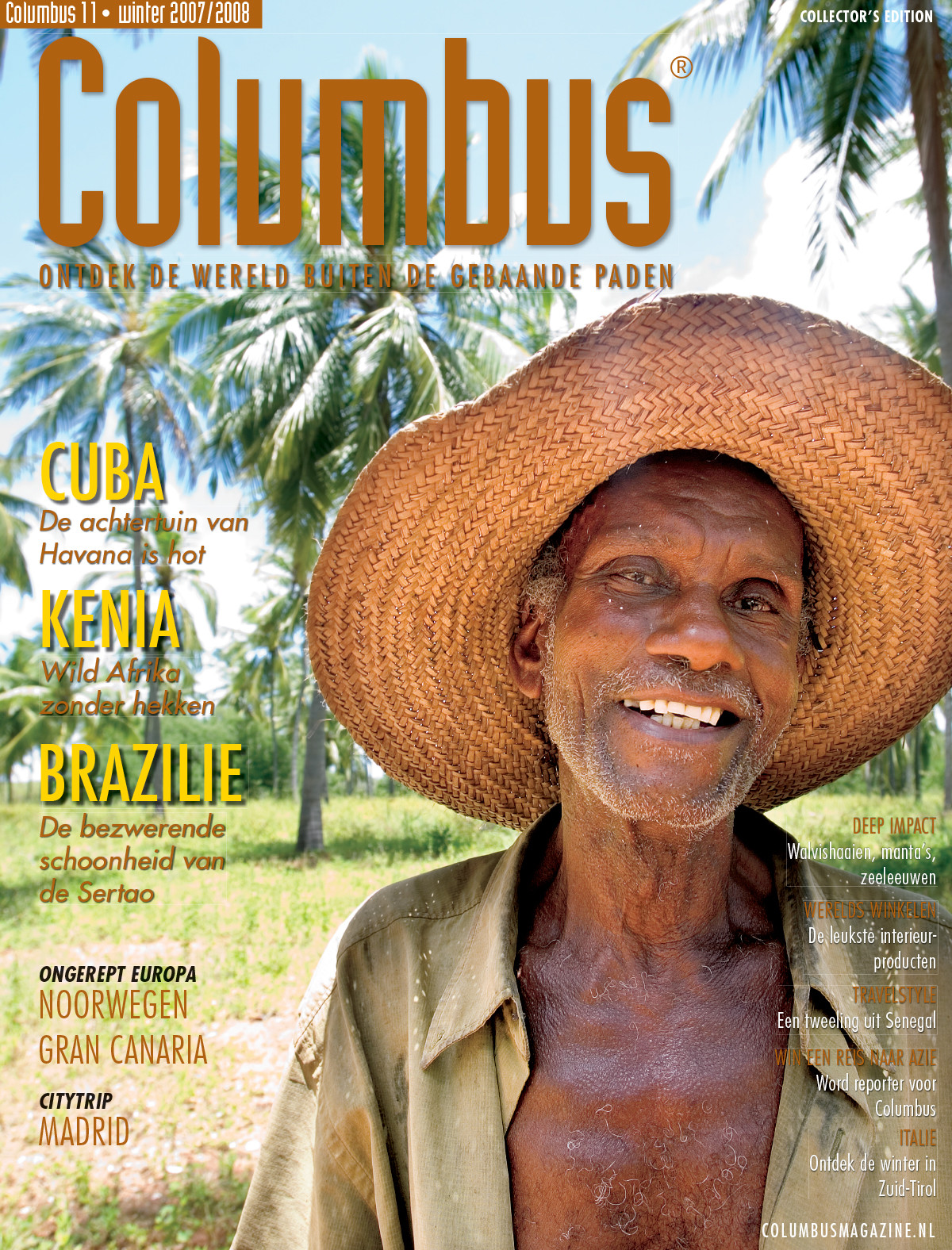 Columbus Travel magazine cover 11