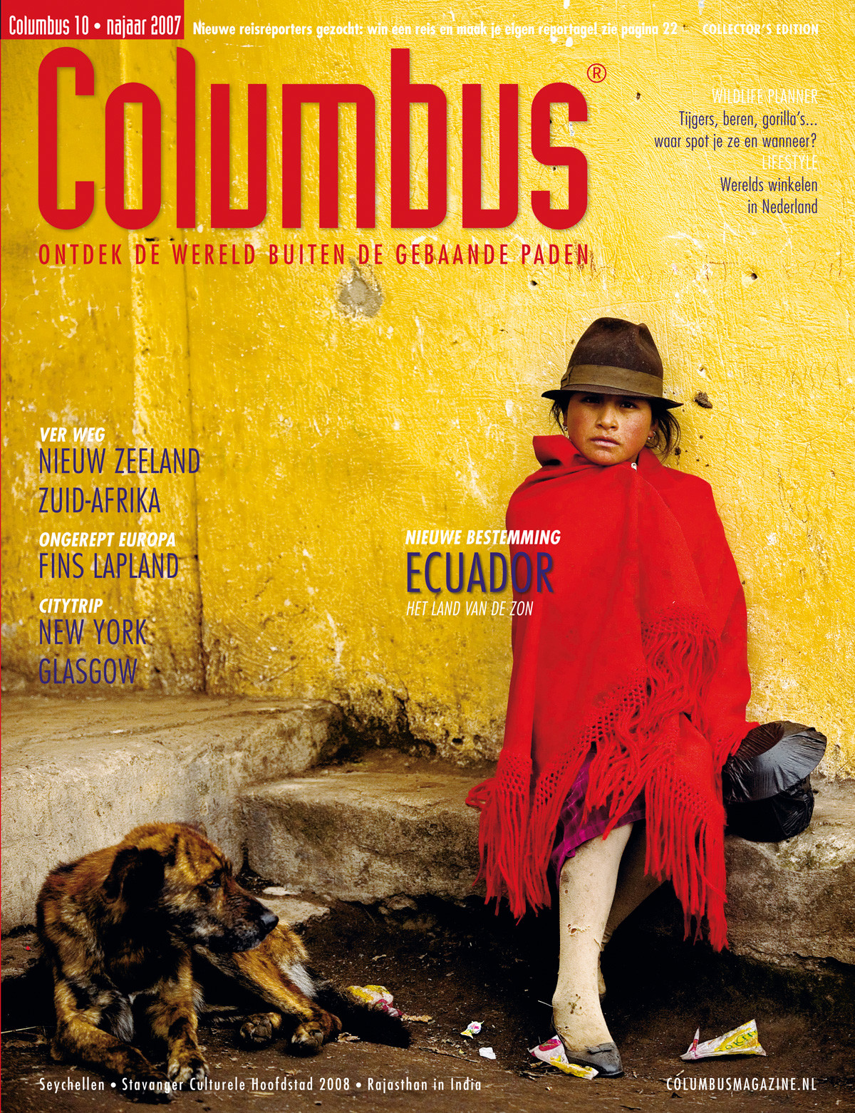 Columbus Travel magazine cover 10