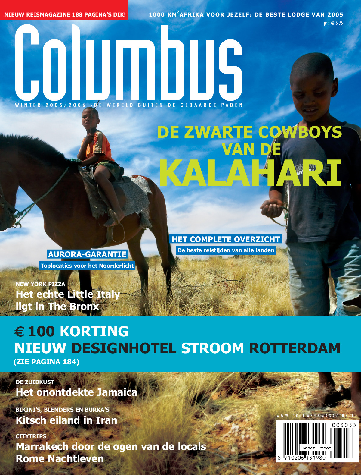 Columbus Travel magazine cover 03