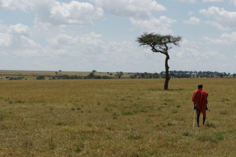 Masaï in de Mara North Conservancy.