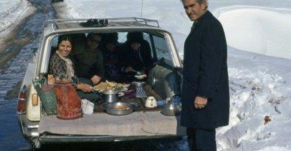6. Picknick in de sneeuw