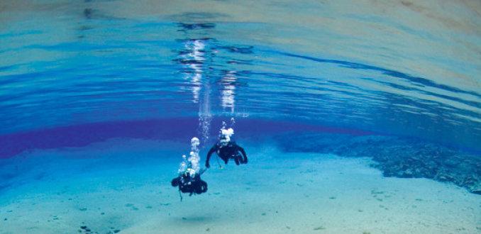 De mooiste duikplekken van IJsland
