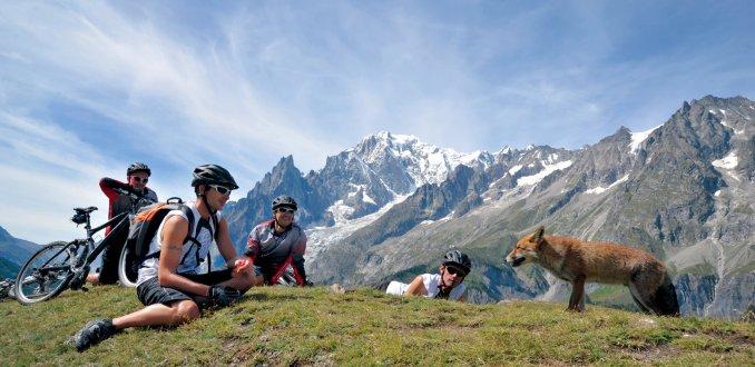 Valle d'Aosta: fietsen op het dak van Europa