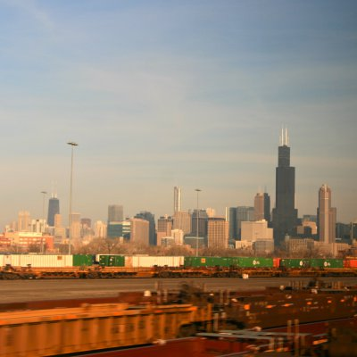 Voorvertoning Aankomst in Chicago