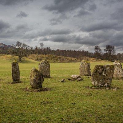 Voorvertoning Kinell stone circle in Killin