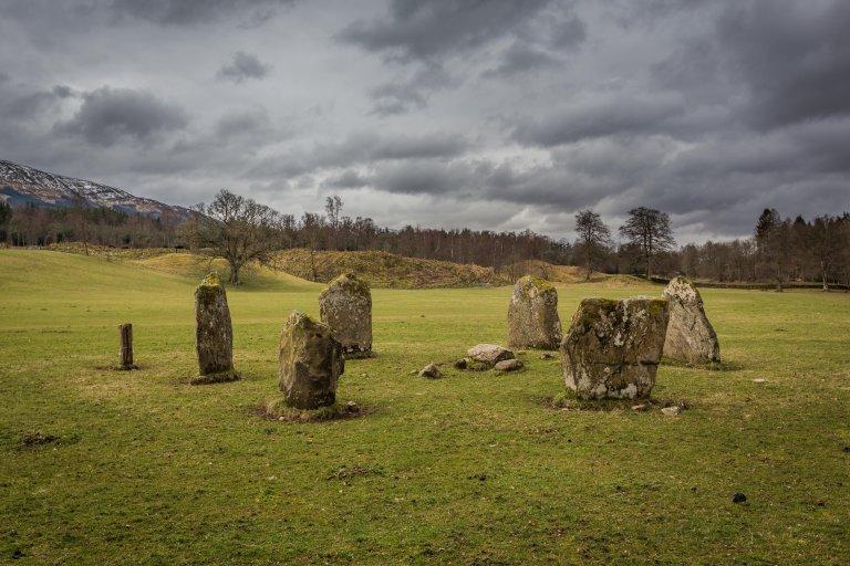 Kinell stone circle in Killin