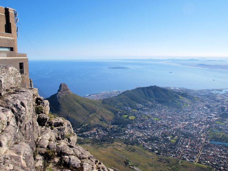 Hoofdfoto bij reisverhaal 'Hike naar de top van de tafelberg!'