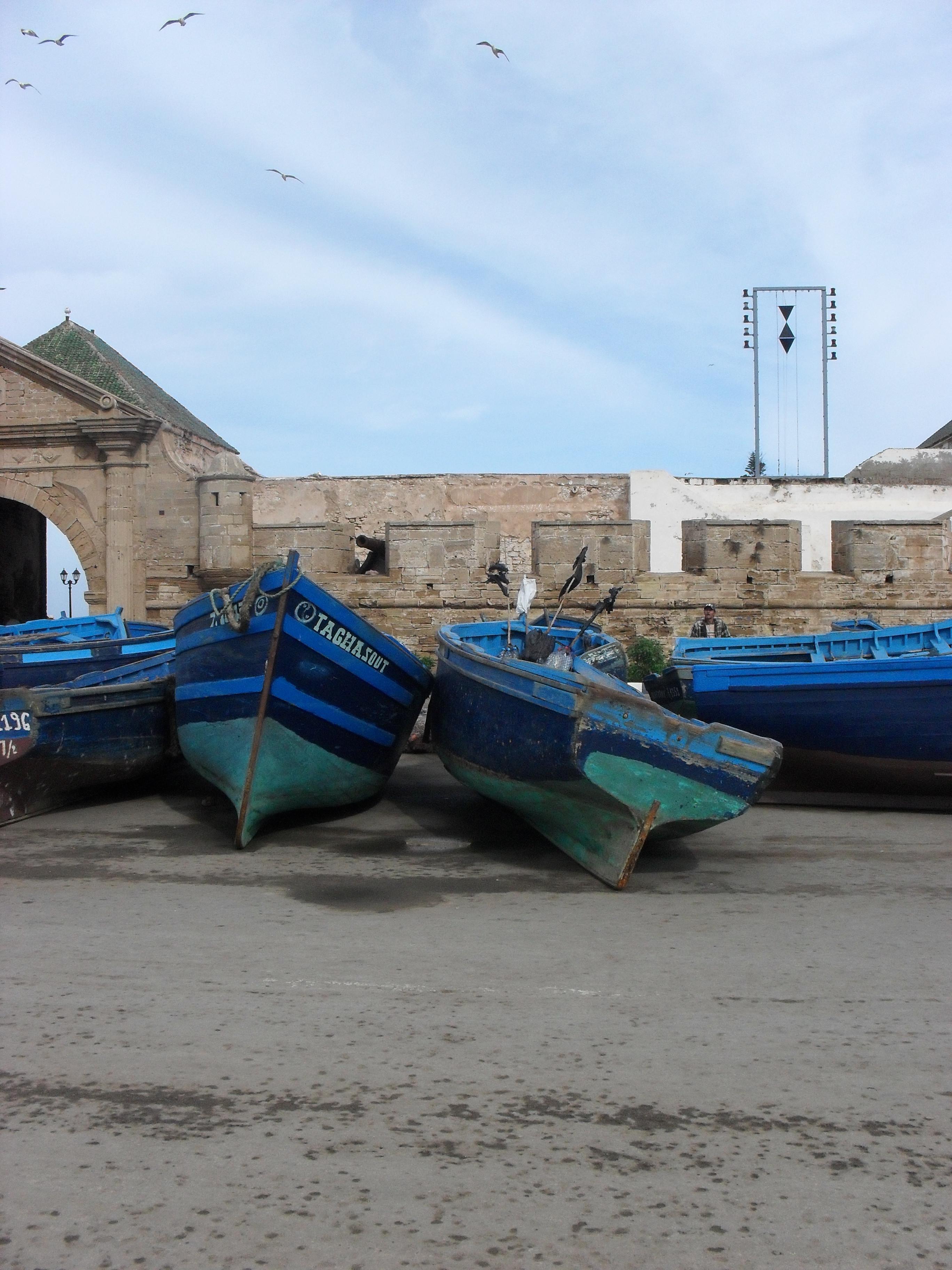Vissers boten.