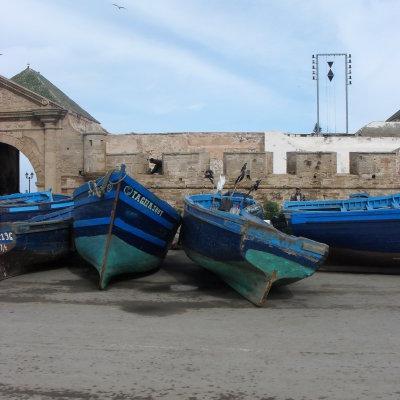 Voorvertoning Vissers boten.