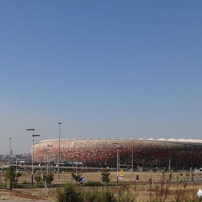 Voorvertoning Soccer City Stadium