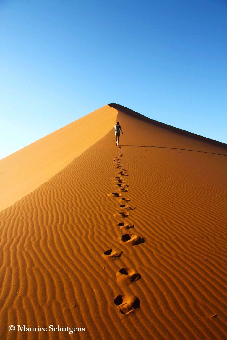 Hoofdfoto bij reisverhaal 'De Woestijn van Namibie'