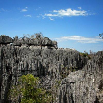 Voorvertoning Uitzicht vanaf de top van de grote Tsingy.