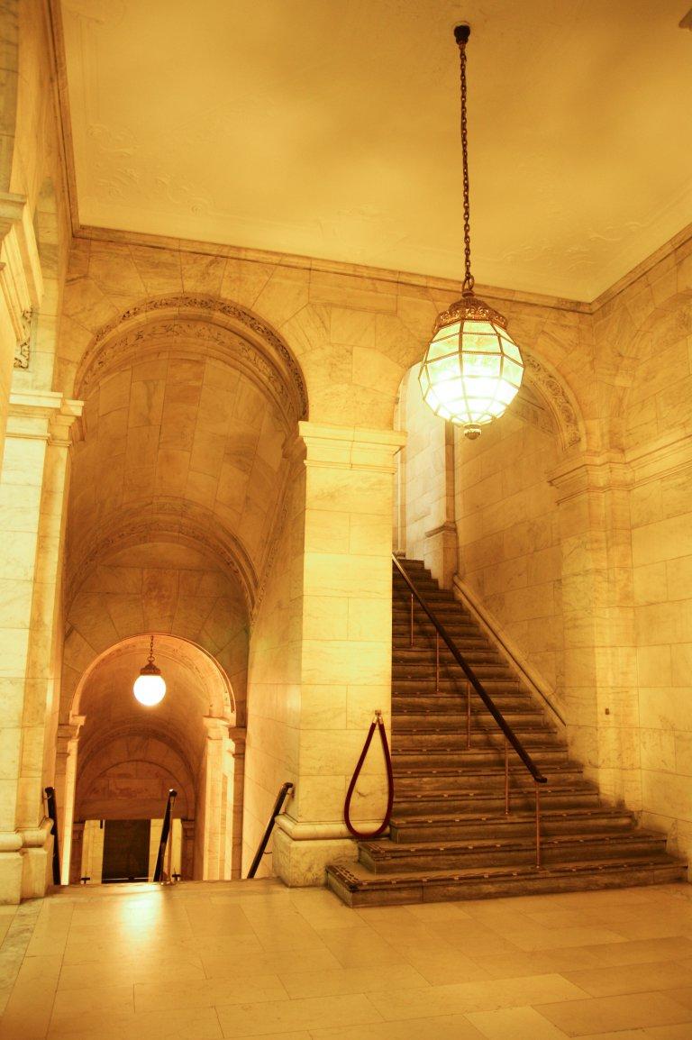 Interieur Public Library