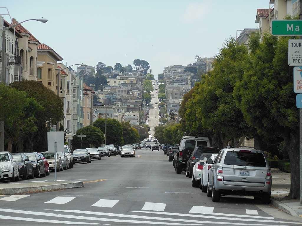 We kennen de straten van San Francisco, alleen al van de Clint Eastwood films. Maar in werkelijkheid zijn ze nog veel steiler!