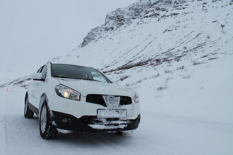 Onze reisauto voor IJsland!