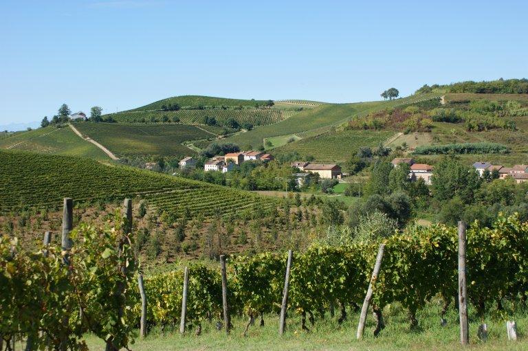 Het Piemontese landschap