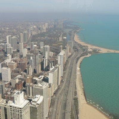 Voorvertoning Uitzicht vanuit 360 Chicago