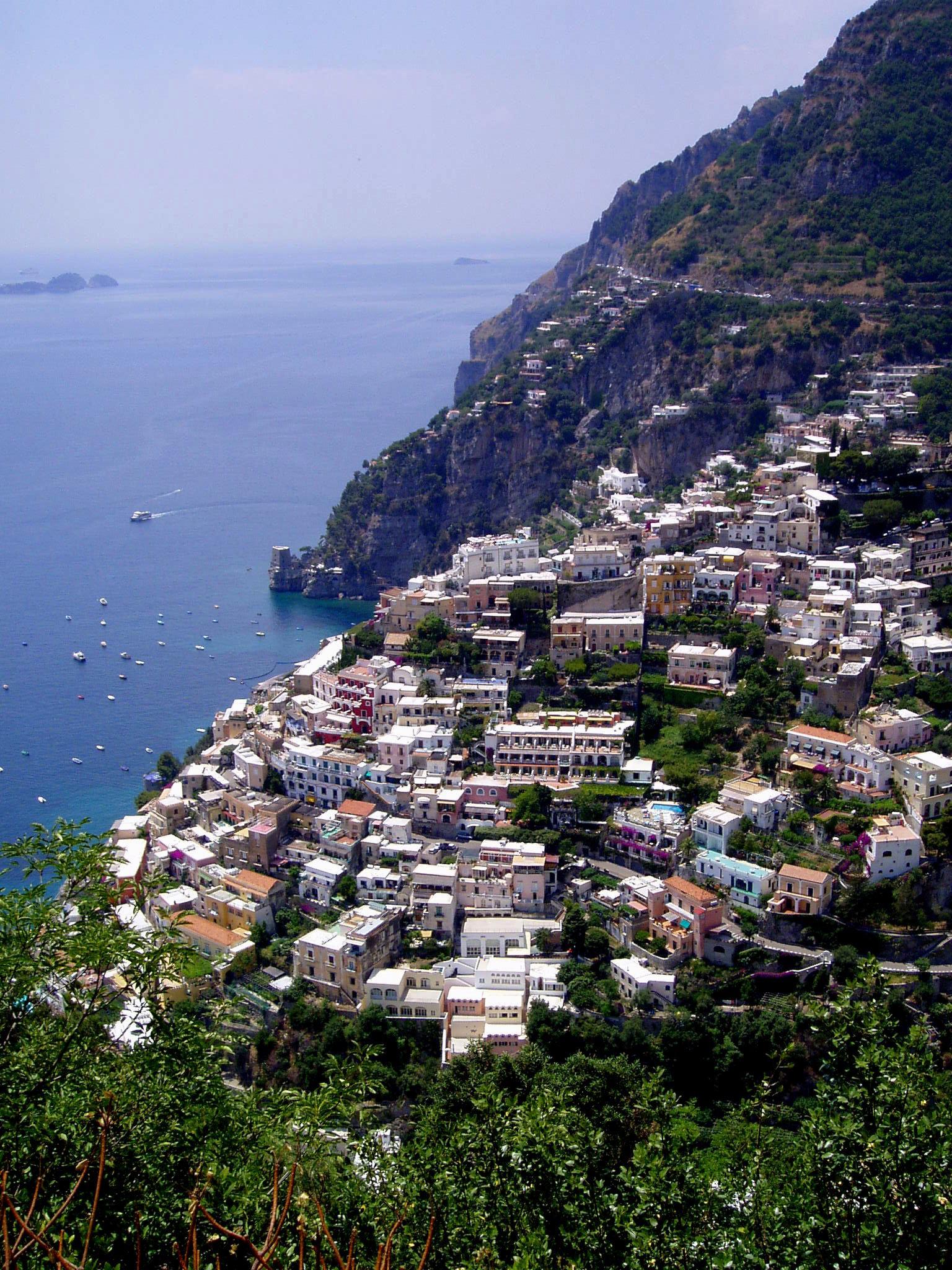 Wel of niet 'flaneren' in Positano?