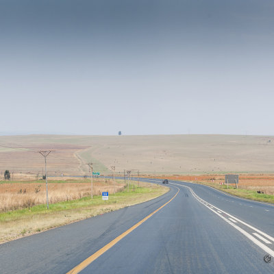 Voorvertoning Onderweg naar Sabie. In Zuid-Afrika rijd je aan de linkerkant.