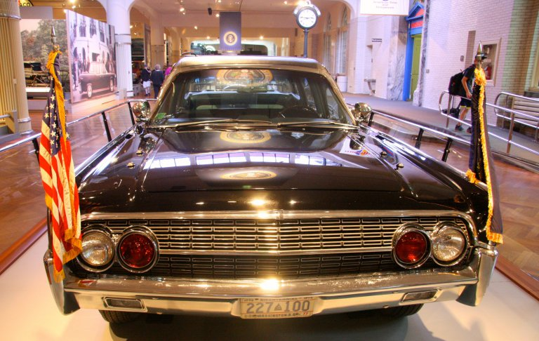Limo JFK in Ford Museum Dearborn