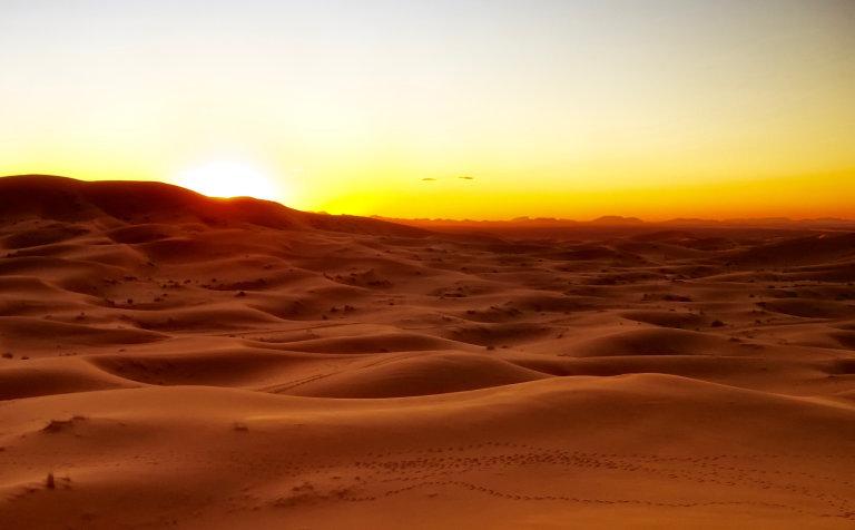 Hoofdfoto bij reisverhaal 'Overnachting in de Woestijn'