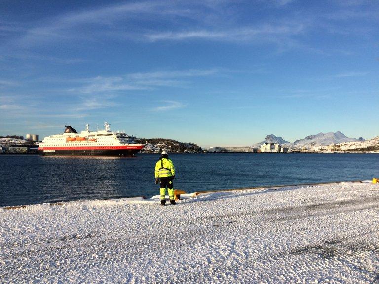 Hurtigruten, helaas voor ons een andere dag