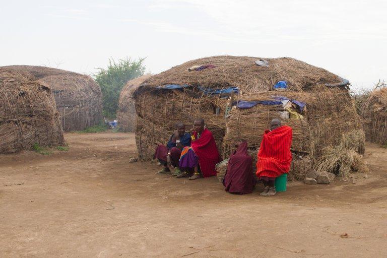 Masai hutje