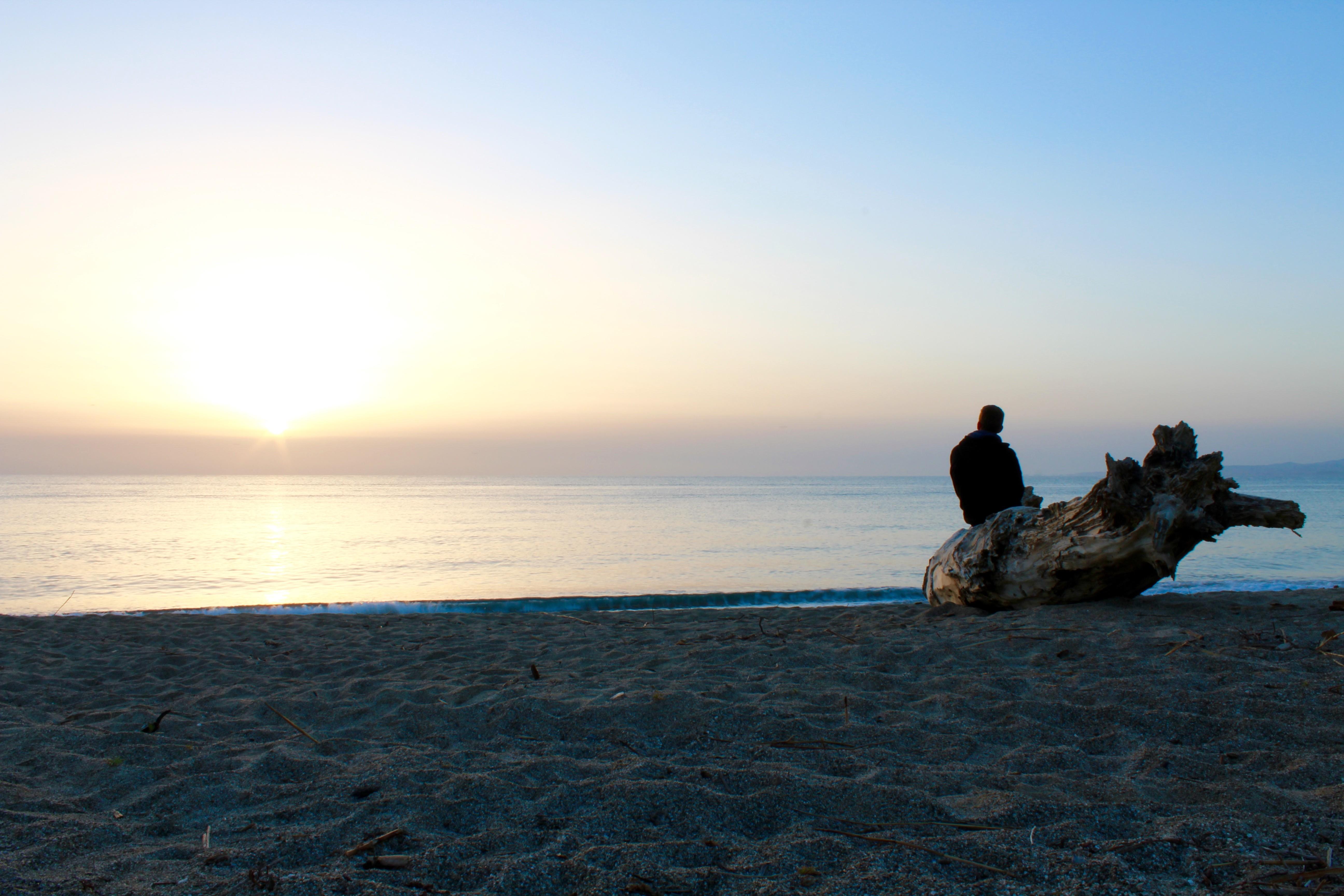 Zonsopkomst boven de Ionische zee