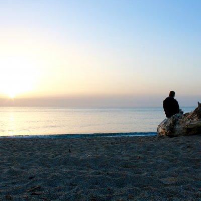 Voorvertoning Zonsopkomst boven de Ionische zee