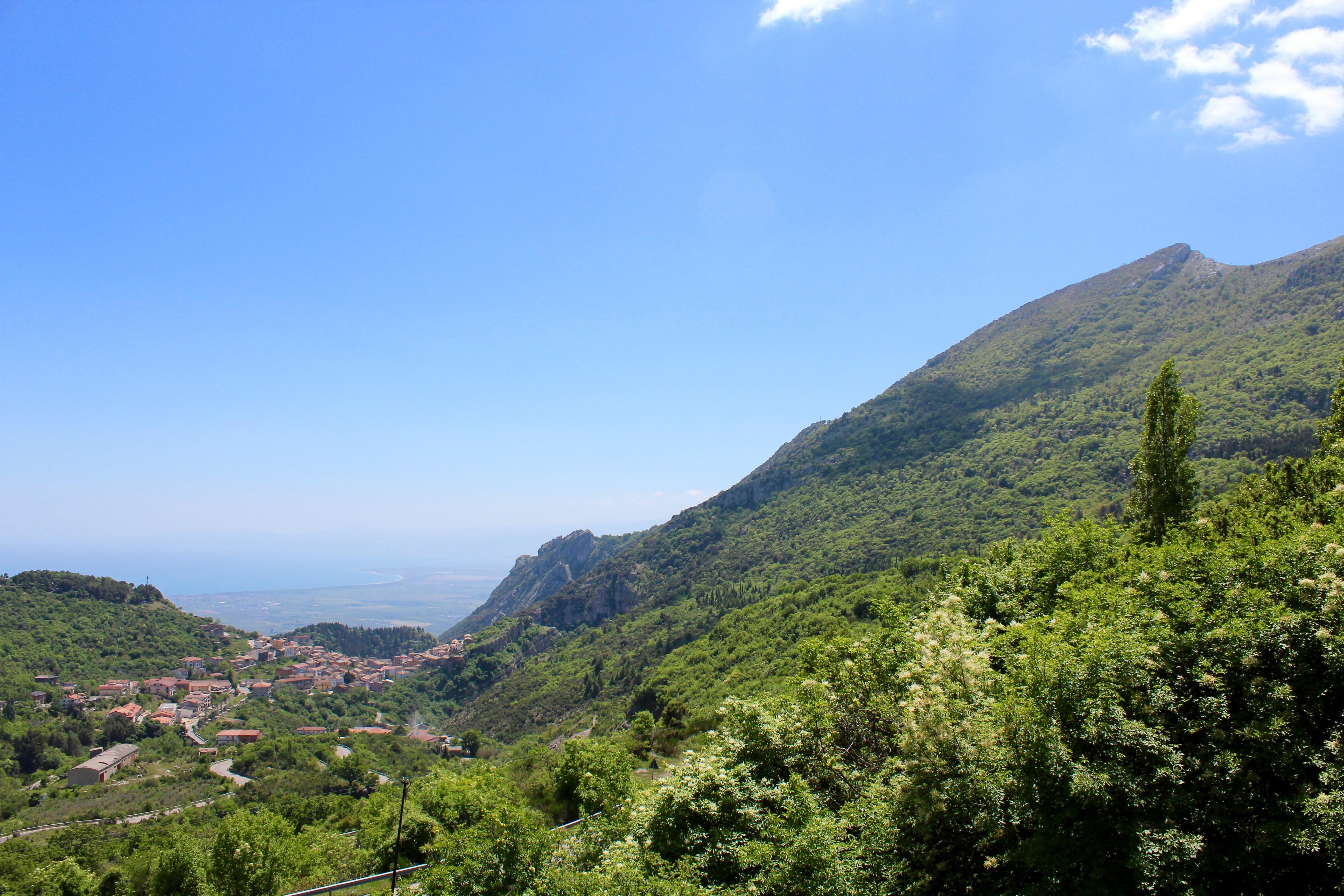 De omgeving van Cerchiara